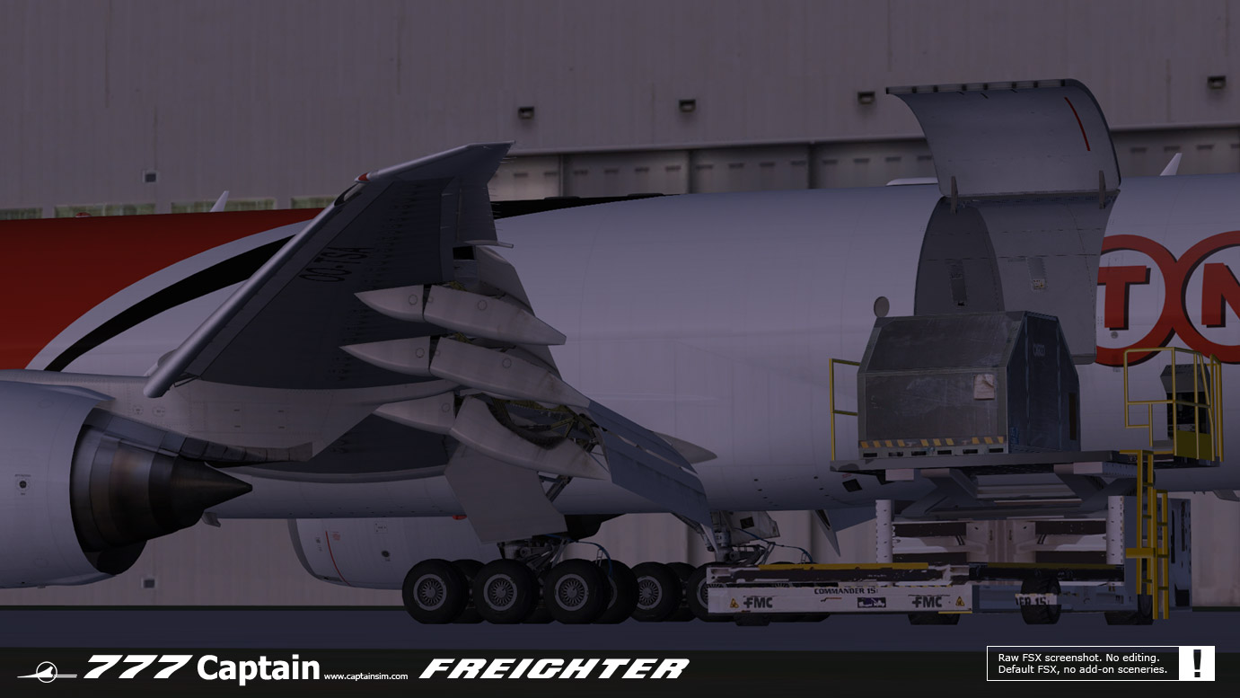 CAPTAIN SIM - 777 FREIGHTER EXPANSION MODEL FSX P3D