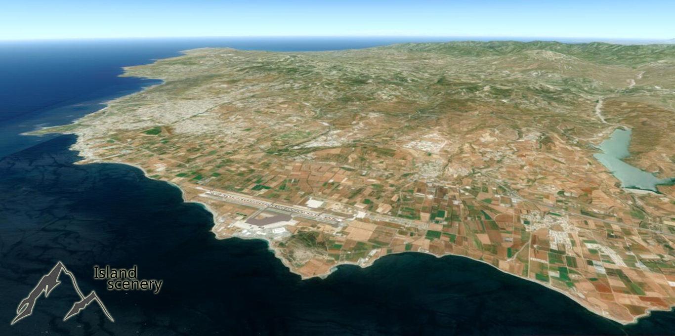 ISLAND SCENERY - REAL CYPRUS FSX P3D