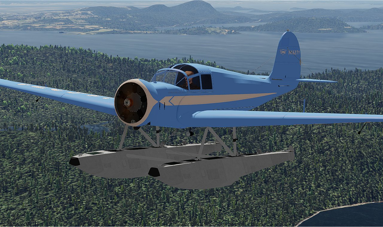 GOLDEN AGE SIMULATIONS - AERONCA LC FOR P3D V 1-5, FSX
