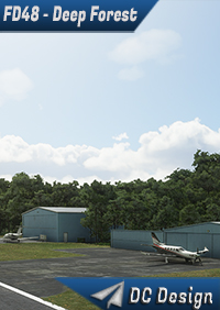 DC SCENERY DESIGN - FD48 - DEEP FOREST AIRPORT - JACKSONVILLE - FLORIDA - MSFS