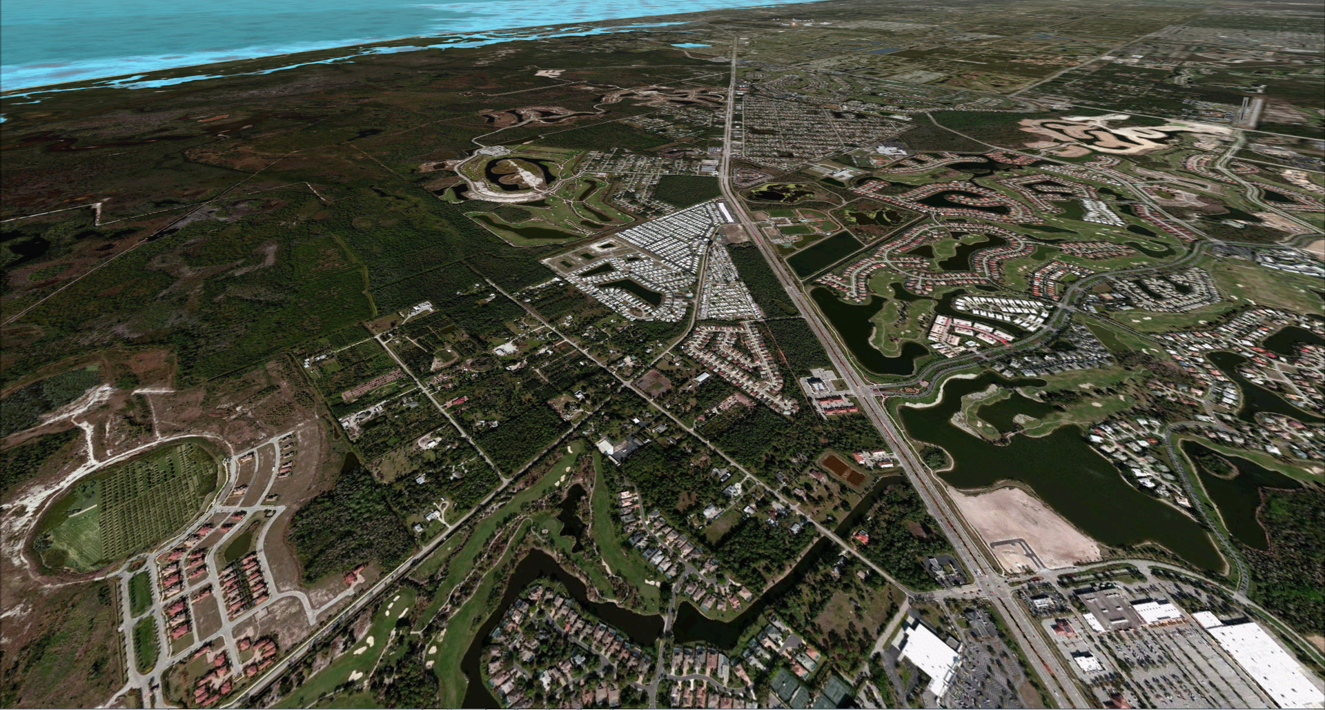 REALWORLD SCENERY - FLORIDA - SOUTHERN - FSX