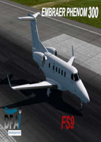 DFAI DEVELOPPEMENT - EMBRAER PHENOM 300 (仅用于AI交通) FS2004