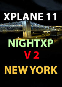 TABURET - XPLANE11 NIGHT XP V2 NEW YORK STATE