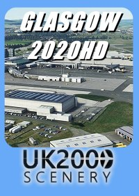 UK2000 SCENERY - GLASGOW 2020HD MSFS