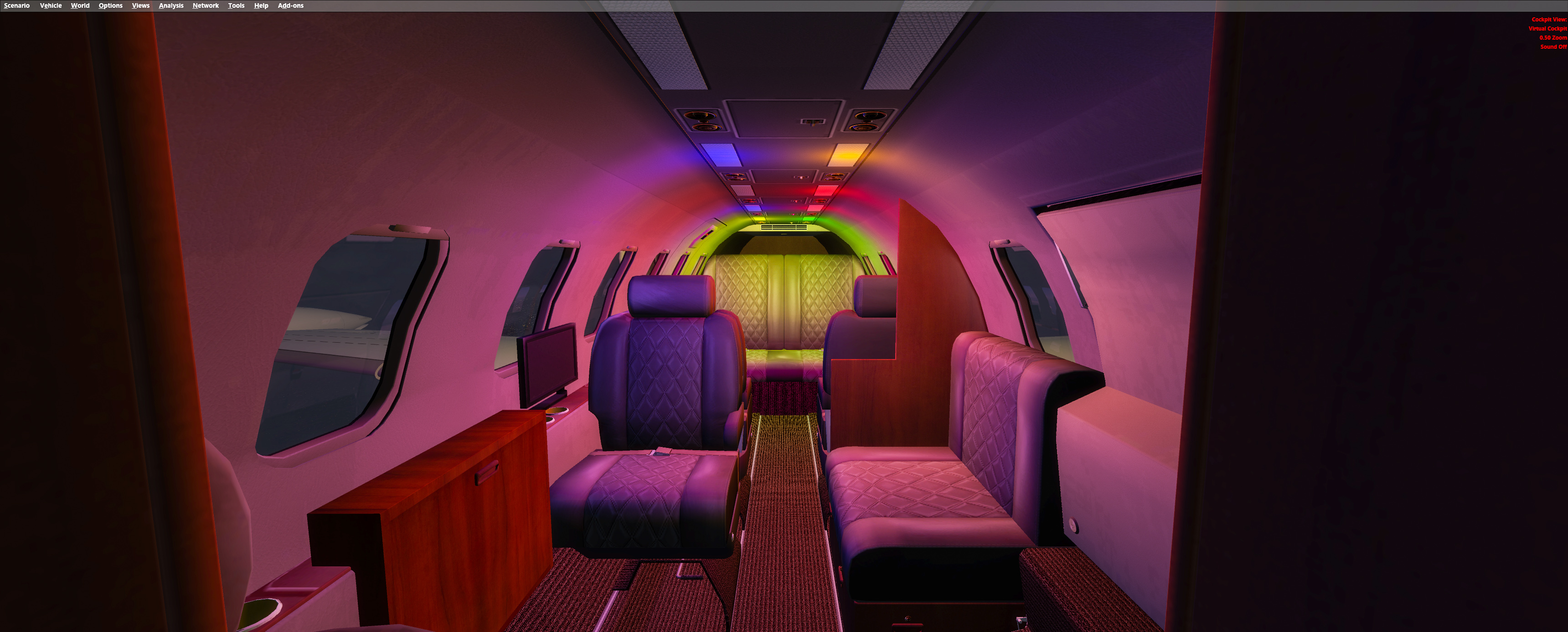 FSFX PACKAGES - LEAR35 IMMERSION (FSX, FSX:SE & P3D)