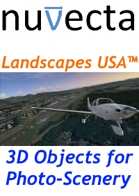 NUVECTA - LANDSCAPES USA™ PUERTO RICO AND US VIRGIN ISLANDS FSX P3D