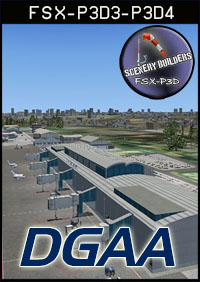 FSXCENERY - DGAA KOTOKA INTERNATIONAL AIRPORT FSX P3D