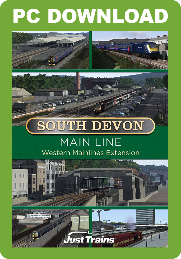 JUSTTRAINS - WESTERN MAINLINES SOUTH DEVON MAIN LINE EXTENSION