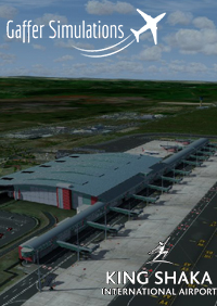 GAFFER SIMULATIONS - KING SHAKA INTERNATIONAL AIRPORT FALE DURBAN P3D4