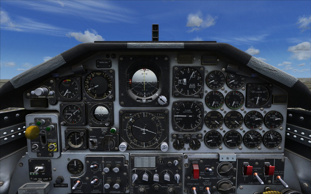 MILVIZ - ADVANCED SERIES T-38A TALON FSX P3D