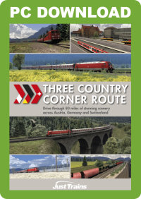 JUSTTRAINS - THREE COUNTRY CORNER ROUTE