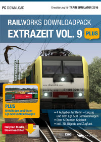 RAILWORKS DOWNLOADPACK - EXTRAZEIT VOL. 9 PLUS - ERWEITERUNG FÜR TRAIN SIMULATOR 2017