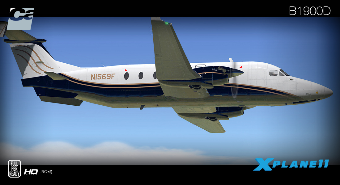 CARENADO - B1900D HD SERIES X-PLANE11