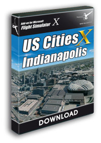 AEROSOFT - US CITIES X - INDIANAPOLIS FSX P3D