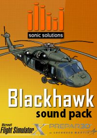 SONIC SOLUTIONS - BLACKHAWK SOUNDPACK FSX P3D