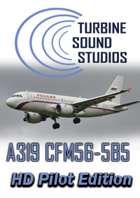 TURBINE SOUND STUDIOS - AIRBUS A319 HD CFM56-5B5 PILOT EDITION SOUNDPACK FS2004