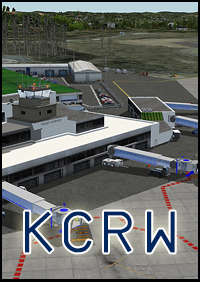 FSXCENERY - KCRW YEAGER AIRPORT FSX