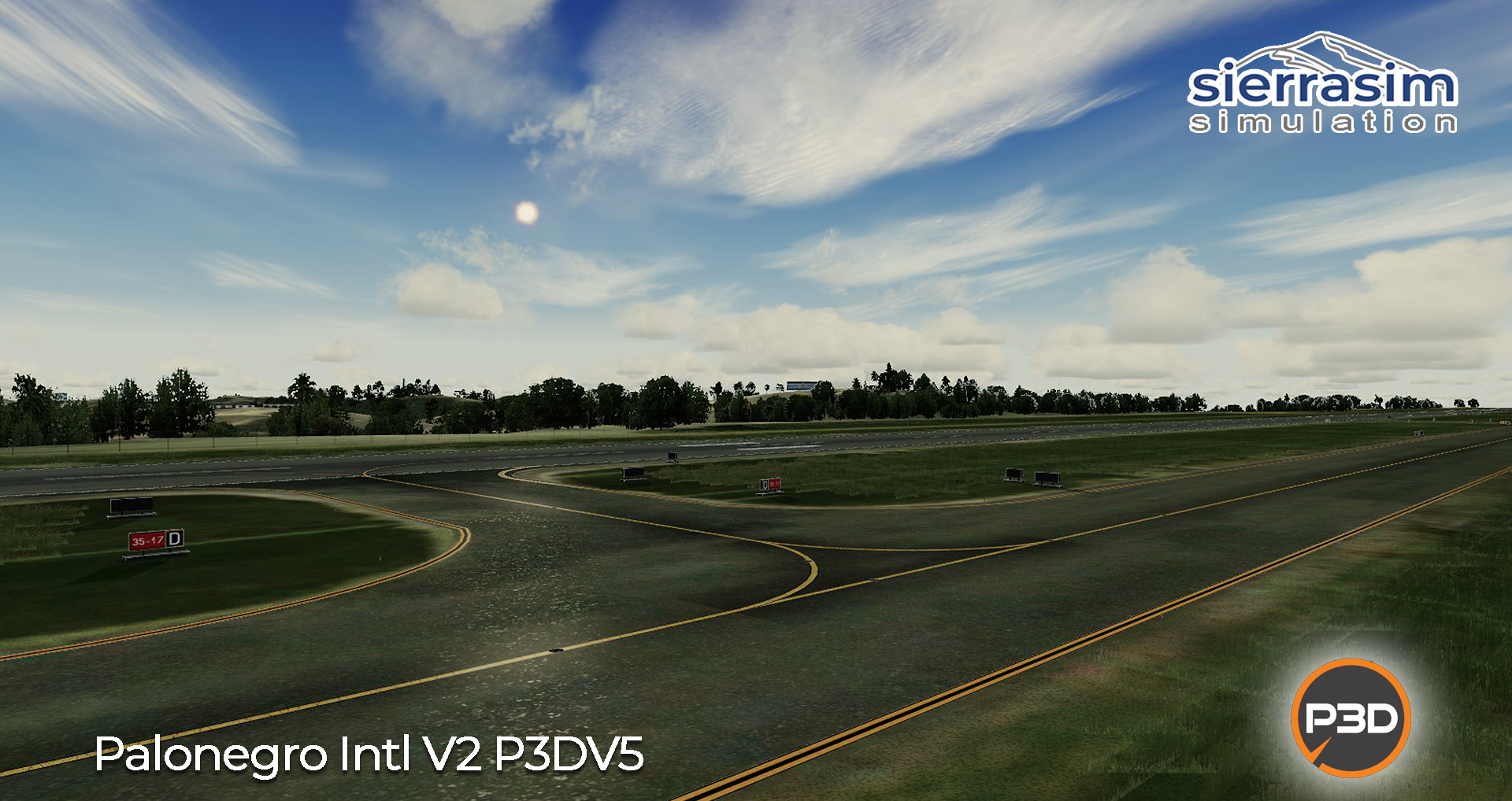 SIERRASIM SIMULATION - SKBG PALONEGRO INTERNATIONAL AIRPORT V2 P3D