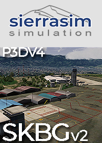 SIERRASIM SIMULATION - SKBG PALONEGRO INTERNATIONAL AIRPORT V2 P3DV4