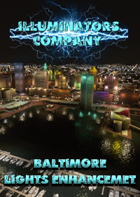 BALTIMORE CITY NIGHT LIGHT ENHANCED FOR MSFS