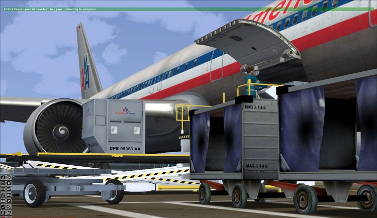 FSDREAMTEAM - GSX GROUND SERVICES FOR FSX P3D
