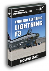 AEROSOFT - ENGLISH ELECTRIC LIGHTNING F3 X FSX P3D (DOWNLOAD)