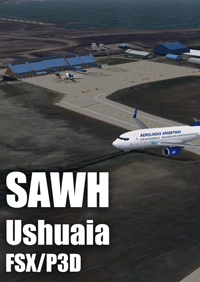 FLIGHTSIMDESIGN CHILE - USHUAIA INTERNATIONAL AIRPORT - ARGENTINA FSX P3D