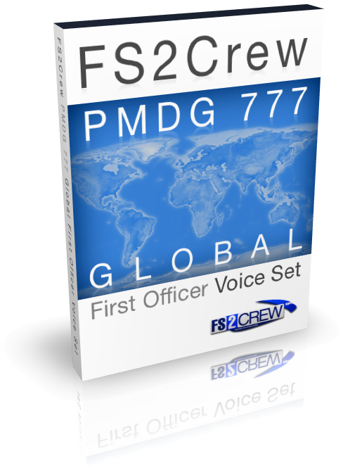 FS2CREW - PMDG 777 GLOBAL FO VOICE SET FSX P3D