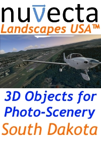 NUVECTA - LANDSCAPES USA™ SOUTH DAKOTA FSX P3D