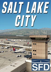 SHORTFINAL DESIGN - SALT LAKE CITY AIRPORT KSLC X-PLANE