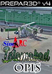 SIMARC - ISLAMABAD INTERNATIONAL AIRPORT OPIS - P3DV4.4+  P3DV5