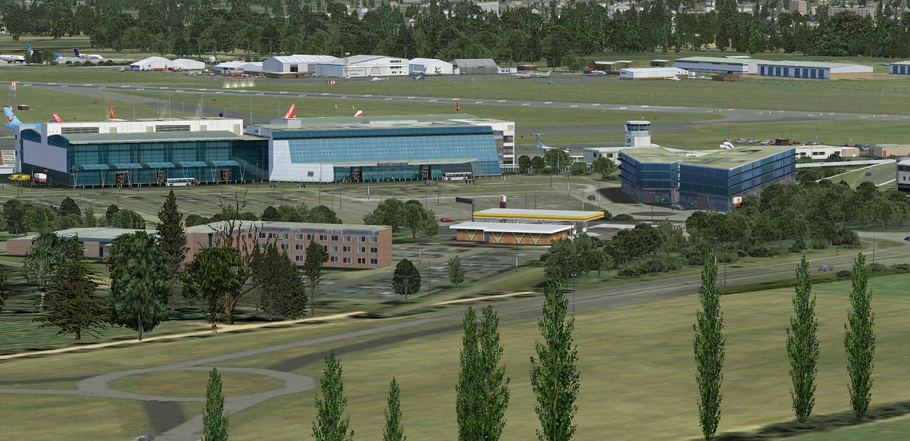 UK2000 SCENERY - NEWCASTLE XTREME EGNT FSX P3D FS2004