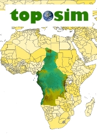 TOPOSIM - CONTINENTS - CENTRAL AFRICA BUNDLE