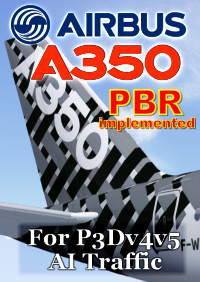 FSPXAI - AIRBUS A350XWB V2 FOR P3DV4&V5 AI-TRAFFIC