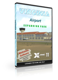 NMG SIMULATIONS - VIRGINIA AIRPORT V1.3 X-PLANE 11