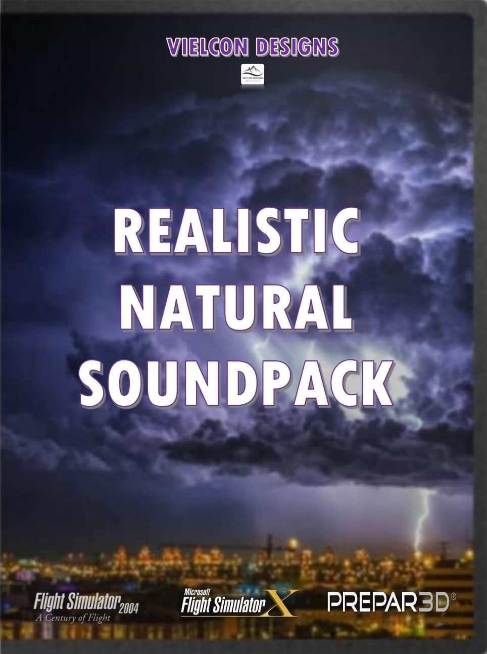 VIELCON DESIGNS - REALISTIC NATURAL SOUNDPACK 真实自然音效包 (FS2004/FSX/P3D)