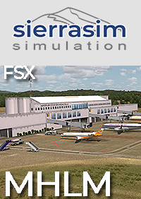SIERRASIM SIMULATION - MHLM LA MESA INTERNATIONAL AIRPORT FSX