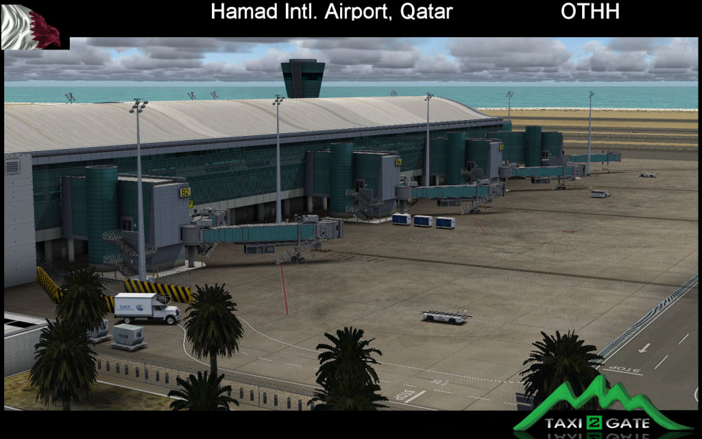 TAXI2GATE - HAMAD INTL AIRPORT FS2004