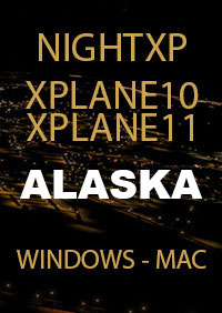 TABURET - NIGHT XP ALASKA FOR X-PLANE 10/11