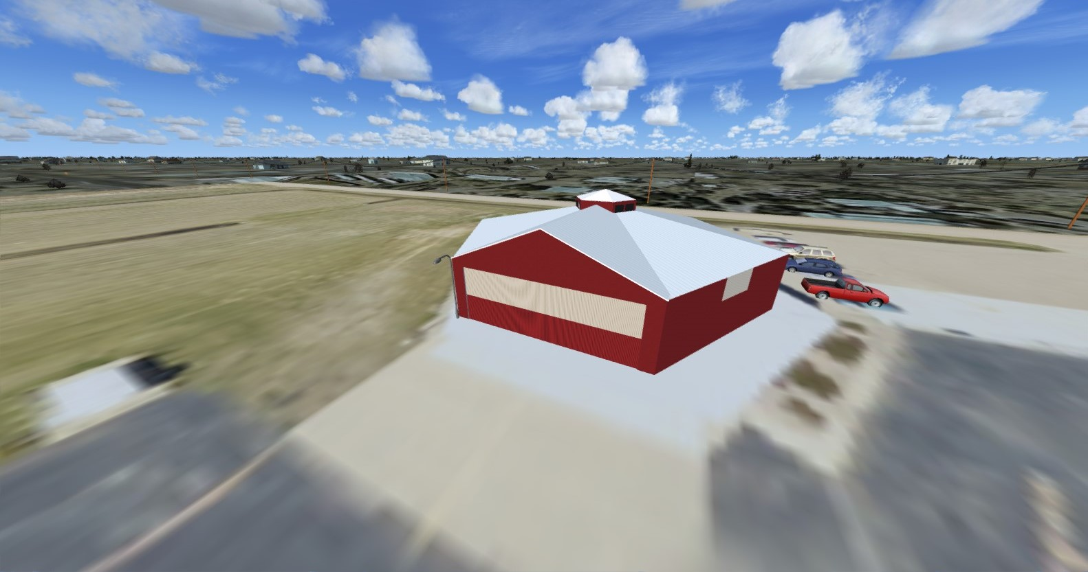 CB SIMULATIONS - D54 WEST FARGO MUNICIPAL AIRPORT FSX P3D