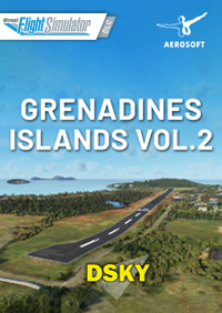 AEROSOFT - DSKY - GRENADINES ISLANDS VOL. 2 MSFS
