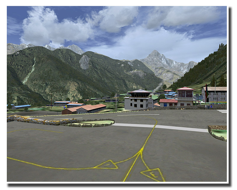 AEROSOFT - LUKLA X MOUNT EVEREST FSX P3D