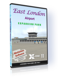 NMG SIMULATIONS - EAST LONDON AIRPORT V2.4 X-PLANE 11