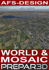 AFS-DESIGN - WORLD & MOSAIC V4 P3D4 纹理优化软件