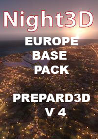 TABURET - FSX P3D NIGHT 3D EUROPE BASE PACK P3D