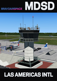 BRAVOAIRSPACE - LAS AMERICAS INTERNATIONAL AIRPORT - MDSD - V2.0 P3D4.5-5.1