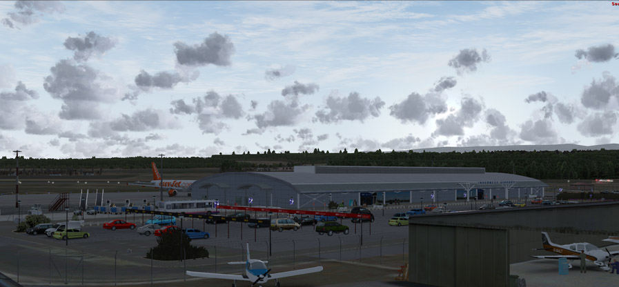 SIM720 - INVERNESS AIRPORT FSX P3D