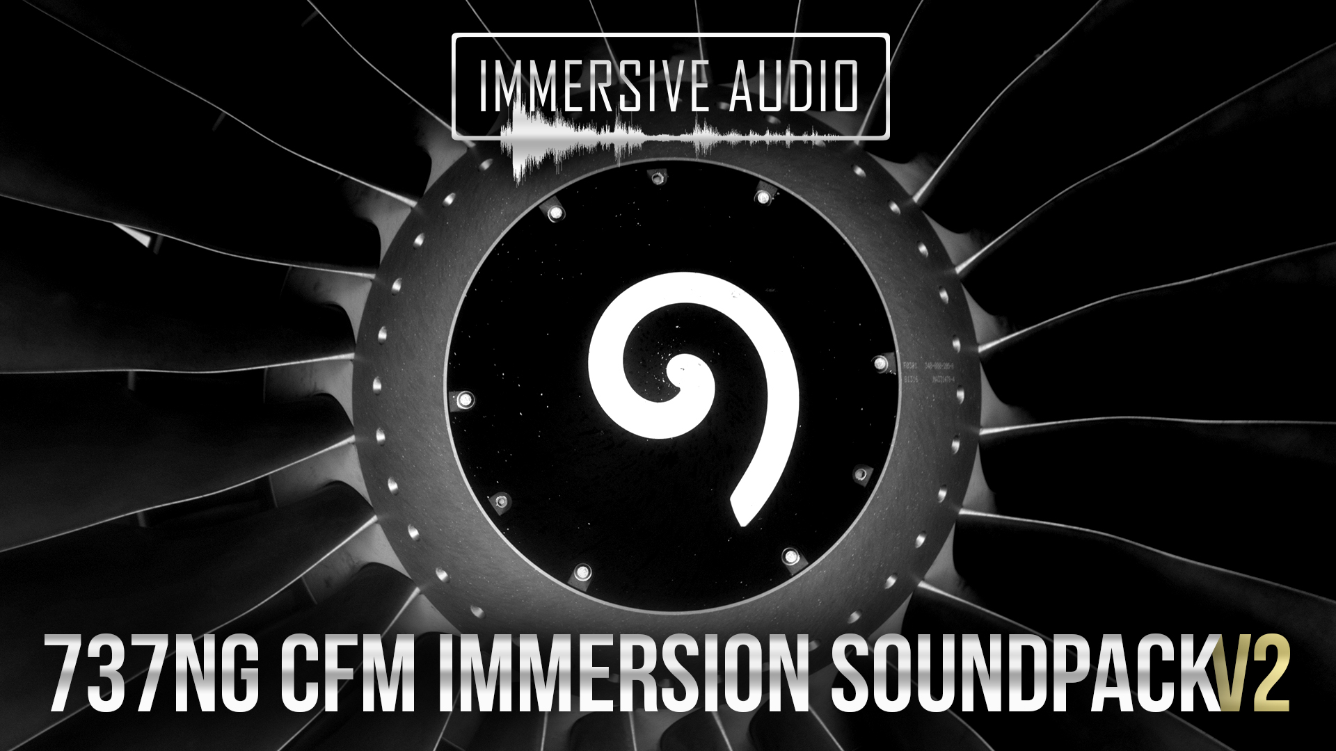 IMMERSIVE AUDIO - 737NG CFM IMMERSION SOUNDPACK V2 FSX P3D