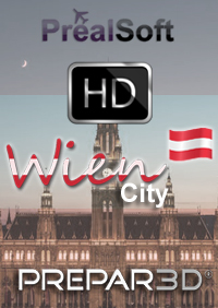 PREALSOFT - HD CITIES VIENNA FSX P3D