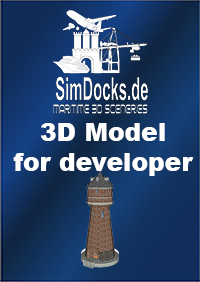 "SIMDOCKS.DE - 3D MODEL ""WATER TOWER"" (RESERVOIR)"